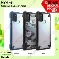 Ringke Fusion X Case Samsung Galaxy A21s Original Casing Anti Crack