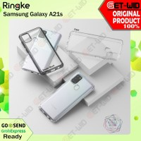 Case Samsung Galaxy A21s Ringke Fusion Original Casing Anti Crack