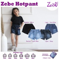 Zebe Jeans Hotpants Edition (6 sd 11 tahun)