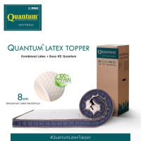 Quantum Latex Topper 100 x 200 Mattress / Kasur Springbed / Spring Bed