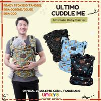 Cuddle Me - ULTIMO - Gendongan Bayi Hipseat 4 posisi - dino navy