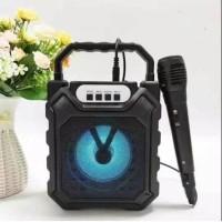 SPEAKER PORTABLE JPJ-668 SPIKER MINI BLUETOOTH FREE MIC KARAOKE SOUND