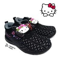Sepatu Anak Perempuan HK Black - Sepatu Anak Sekolah Lucu Berkarakter