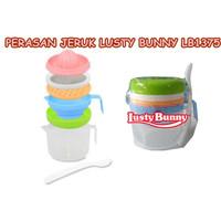 Food Maker Set Lusty Bunny Penghalus Makanan Bayi Bpa Free