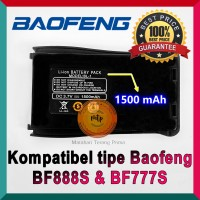 BATERAI HT BAOFENG BF888S BF888 888S BF777 1500mAh Terlaris