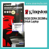 Memory Ram Kingston 16GB DDR4 2933 MHz SODIMM KVR29S21S8/16