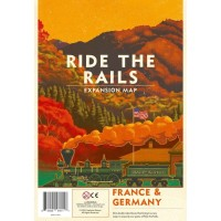Ride the Rails: France & Germany Board Game Expansion - TokoBoardGame