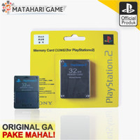Sony Memory Card PS2 / MC PS2 / 32MB For Playstation 2 - 32MB