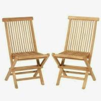 Kursi Lipat Taman Kayu Jati Outdoor Santai furniture jepara