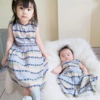 Home Dress Anak bahan Rayon Virscose | Dress Santai | TIFFANY DRESS