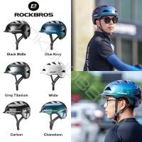 Helm Sepeda Rockbros Chameleon Urban City Lipat MTB Road Bike TS56 - Abu-abu