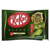 Japanese KitKat Mini Otona No Amasa Strong Green Tea 12 pcs