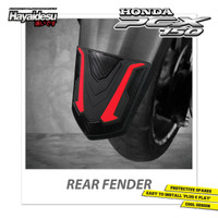 Hayaidesu PCX Body Protector Rear Fender Cover