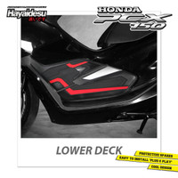 Hayaidesu PCX Body Protector Lower Deck Cover