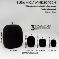 Busa Mic Windscreen Kecil - C