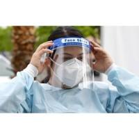 Face shield pelindung wajah dari debu dan kotoran serta virus