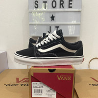 Vans Oldskool Black White / Vans Old Skool Black White Premium - 37