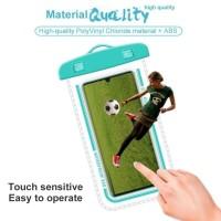 Waterproof Handphone Case / Sarung HP Anti Air Case Max Ukuran 7 inchi - Putih
