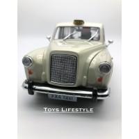 Welly Diecast - Austin FX4 London Taxi Skala 1:24 (Putih)