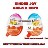 Kinder Joy Boys / Girls - Telur Cokelat dengan Mainan | Coklat Anak