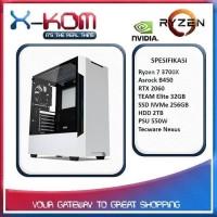 PC Gaming Komputer Rakitan PRO Ryzen 7 3700X RTX 2060 NVMe 256GB