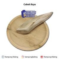 Cobek Kayu Ukuran 15 cm