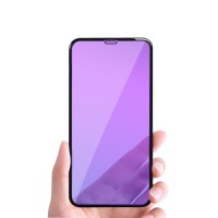 ANTI BLUELIGHT TEMPERED GLASS 10D FULL COVER FOR REALME C2 PRO C15 U3