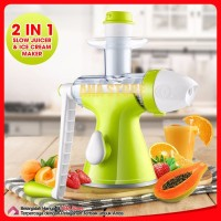 Giocoso Hand Slow Juicer and Ice Cream maker Manual GY3101