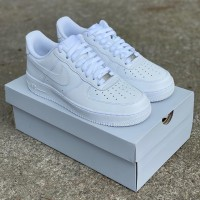 "Sepatu Nike Air Force 1 ""Triple White"" ORIGINAL BNIB"