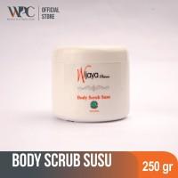 WPC Body Scrub Susu 250gr   body peeling   Lulur mandi