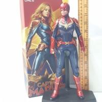 Action Figure Captain Marvel 31cm Crazy toys figur mainan koleksi