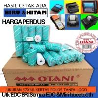 Kertas Thermal Roll 57x30,Coreless Merk Otani Harga Perdus - Biru