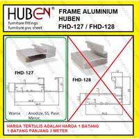 Profil Frame Handle Alumunium Aluminium HUBEN FHD 127 FHD127 FHD-127