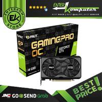 PALIT GeForce GTX 1650 4GB DDR6 GamingPro OC Series / VGA GeForce