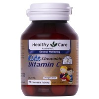 Healthy Care Kids Vitamin C 60 Chewable Tablets