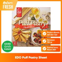 Edo Puff Pastry Sheet - Kulit Adonan Kue Puff Siap Saji Bahan Kue Roti