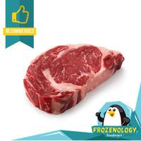 Daging Sapi Ribeye Steak Import AUS Beef Grade A Rib Eye / Cube Roll