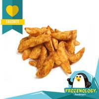 Kentang Goreng Steak Wedges Cut Tasty French Fries 500 g Frozenology