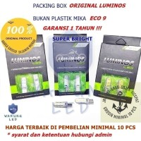 Lampu LED T10 9nine Luminos Senja Sein Lampu Plat Mundur Super Bright - Putih