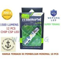 Lampu Led Motor Original Luminos Bebek Matik Beat Vario H6 AC DC