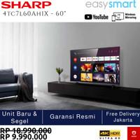 (Termurah) Sharp 4TC60AH1X - Smart TV UHD 4K 60 Inch Easy Smart TV