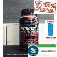Muscletech Hydroxycut Elite Hardcore 100 caps Merah