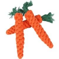 Mainan Anjing Gigit Kunyah. Dog Rope Toy. Wortel Anyam.
