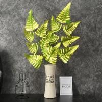 Simulasi emas monstera daun, Dekorasi pernikahan, Pernikahan savanna,