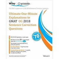 Buku Wiley's Ultimate One-Minute Explanations to GMAT Sentence Correct
