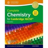 Buku Complete Chemistry for Cambridge IGCSE