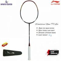 New Raket Badminton Lining Windstorm Nano 770 Lite Red / Gold
