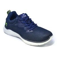 Carvil Sepatu Pria FEDERER-01 BLUE/WHITE
