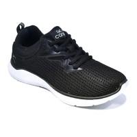 Carvil Sepatu Pria FEDERER-01 BLACK/WHITE