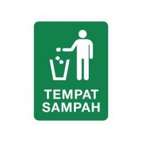 Rambu Tempat Sampah 15x20CM